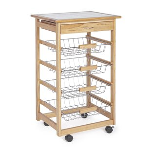 Faustina Serving Cart By Ebern Designs