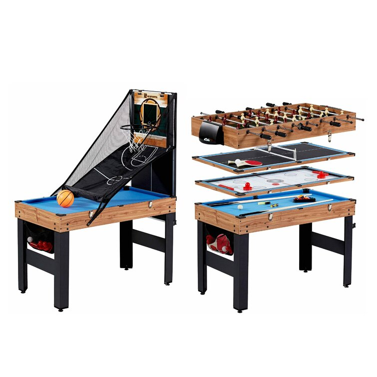 """MD Sports 5 Game 48.5"""" Multi Game Table & Reviews 
