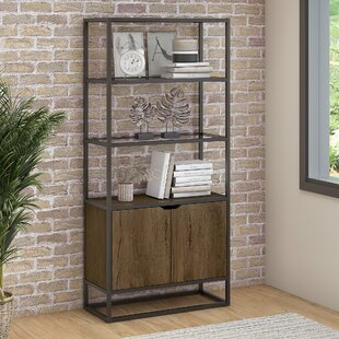 Alcantar 5 Shelf Standard Bookcase
