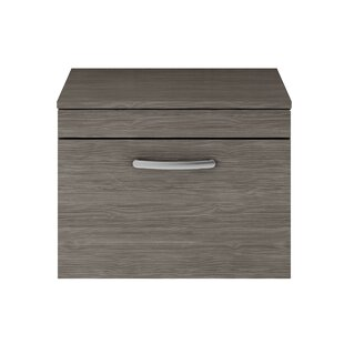 Maddalena 60cm Wall-Mounted Vanity Unit Base Only By Zipcode Design
