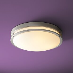 Oxygen Lighting Oracle 1-Light Flush Mount