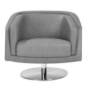 Locking Swivel Lounge Chair by Orren Ellis