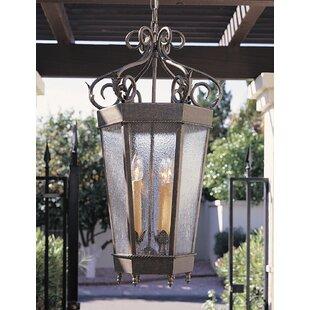 2nd Ave Design Regency 4-Light Outdoor Hanging Lantern