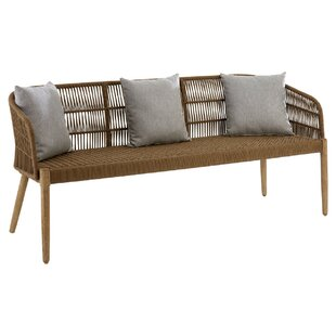 Mariami Wood Bench By Bay Isle Home