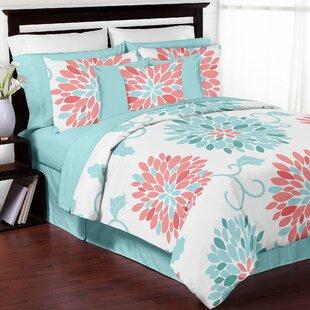 Sweet Jojo Designs Emma Reversible Comforter Set
