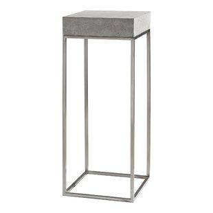 International Concrete Pedestal Base Table Wayfairca - Concrete pedestal table base