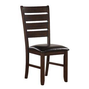 Stanley PU Side Chair (Set of 2) Alcott Hill