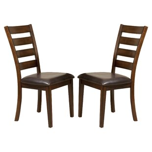Price comparison Whisenhunt Ladder Back Side Chair (Set of 2) by Millwood Pines Reviews (2019) & Buyer's Guide