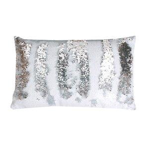 Mermaid Sequin Reversible Melody Lumbar Pillow