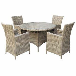 Dakota 4 Seater Dining Set With Cushions Image