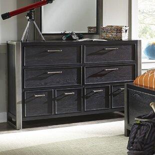 Arkin 8 Drawer Double Dresser by Harriet Bee