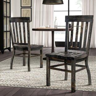 Greyleigh Ellenton Solid Wood Dining Chair (Set of 2)