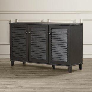 25 Pair Shoe Storage Cabinet