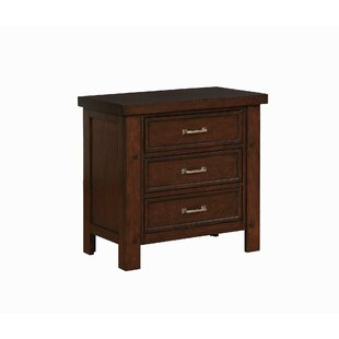 Ludgershall 3-Drawer Nightstand