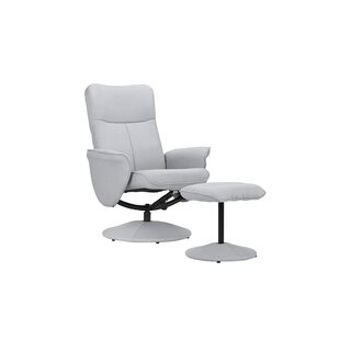 Warrington Swivel Armchair and Ottoman