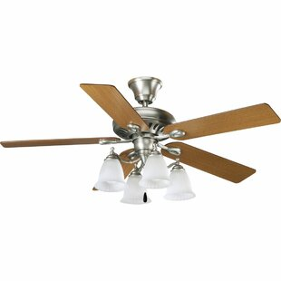 Looking for 52 Goldstein 5-Blade Ceiling Fan By Red Barrel Studio