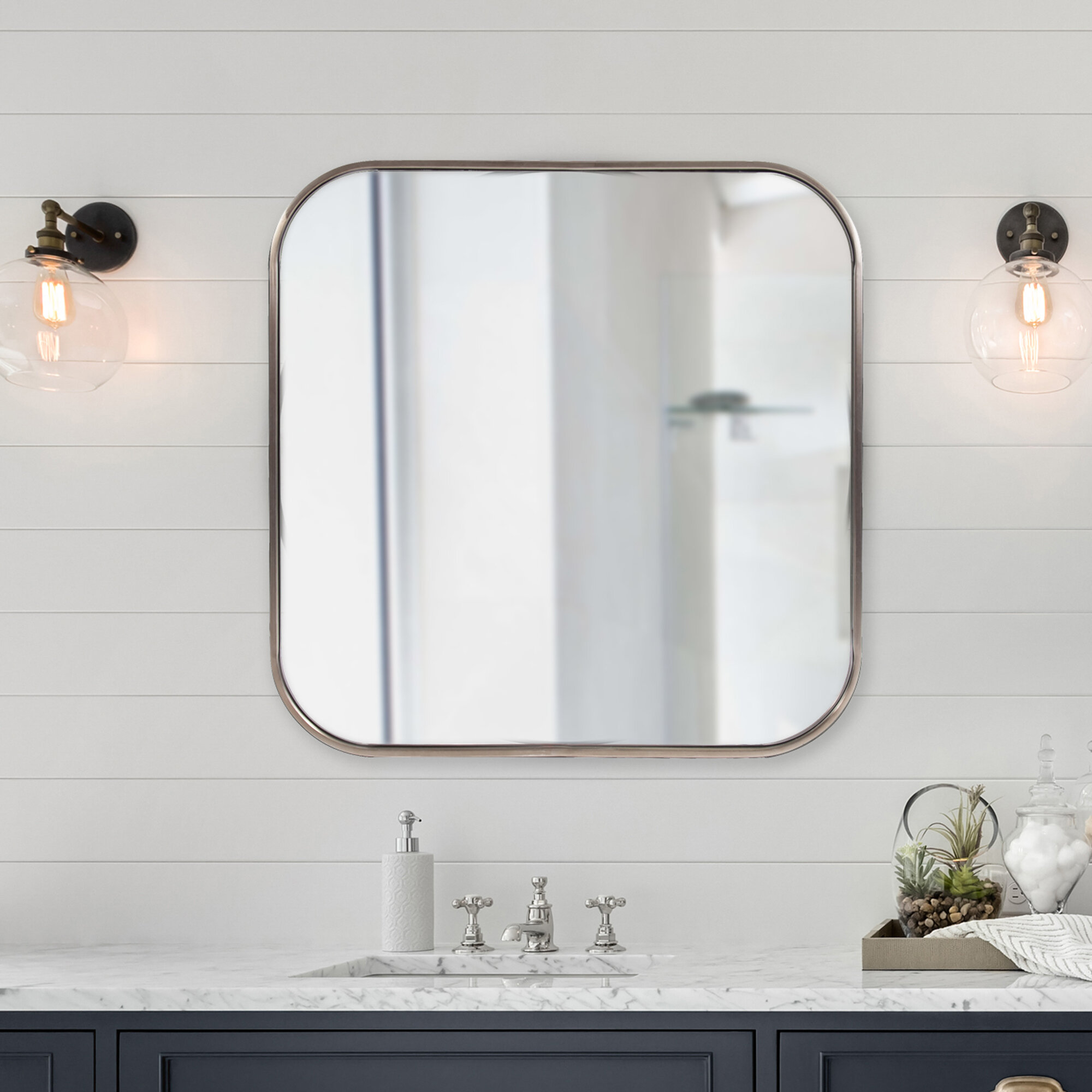 Huling Modern And Contemporary Accent Mirror Reviews Allmodern