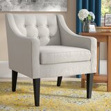 Clopton 26'' Wide Tufted Polyester Armchair
