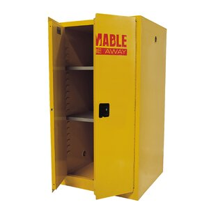 Sandusky Cabinets Flammable Safety 2 Door Storage Cabinet
