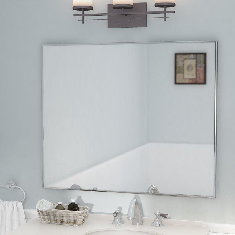 andover mills newland modern contemporary bathroom vanity wall rh wayfair com bathroom vanity mirror wall mount