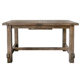 Deleo Extendable Dining Table By Union Rustic