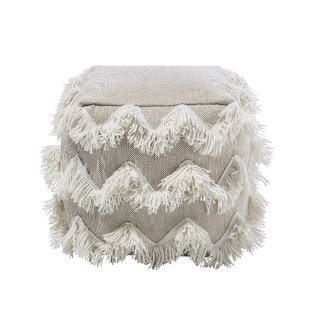 Cinna Pouf by Bungalow Rose