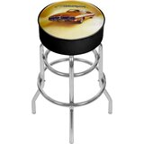 Dodge 69 Charger 31 Swivel Bar Stool by Trademark Global