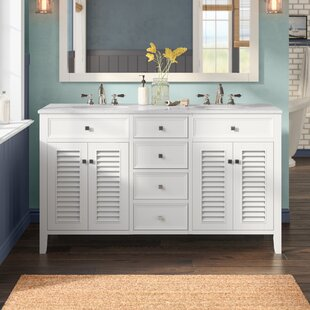Sandburg 60 Double Bathroom Vanity Set