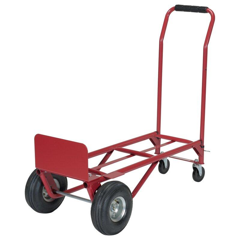 capacity convertible hand truck platform dolly - Convertible Hand Truck