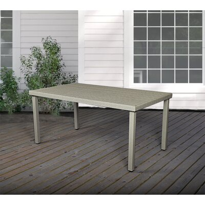 Kathie Rectangular 29.5 Inch Table by Bay Isle Home New