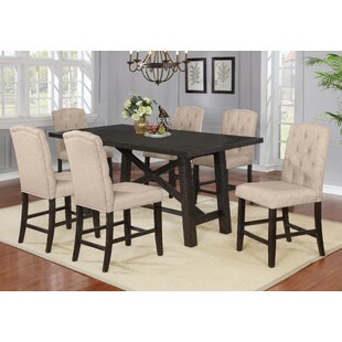 Greggs 7 Piece Counter Height Dining Set