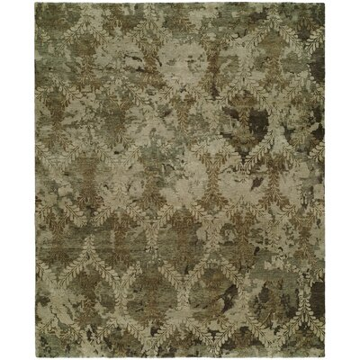 Chelsea Hand Knotted Wool Brown Area Rug Darby Home Co