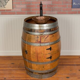 Whiskey Barrel Vanity Wayfair