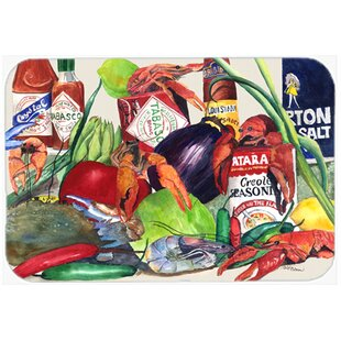 Louisiana Spices Glass Cutting Board