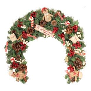 Christmas Garlands Wreaths Reefs You Ll Love Wayfair Co Uk