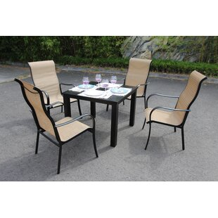 Latitude Run Herald 5 Piece Dining Set