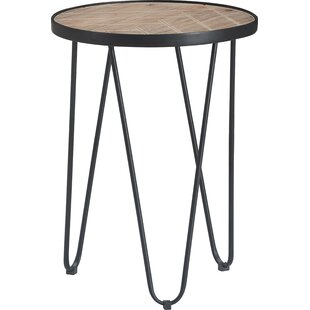 Top Reviews Stansbury End Table by Gracie Oaks