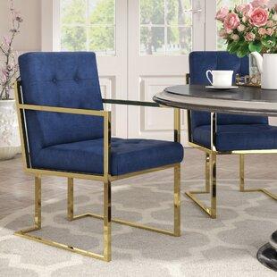 Bellamy Arm Chair (Set Of 2) by Everly Quinn Modern