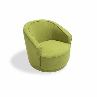 Low priced Oaklyn Swivel Barrel Chair By Orren Ellis
