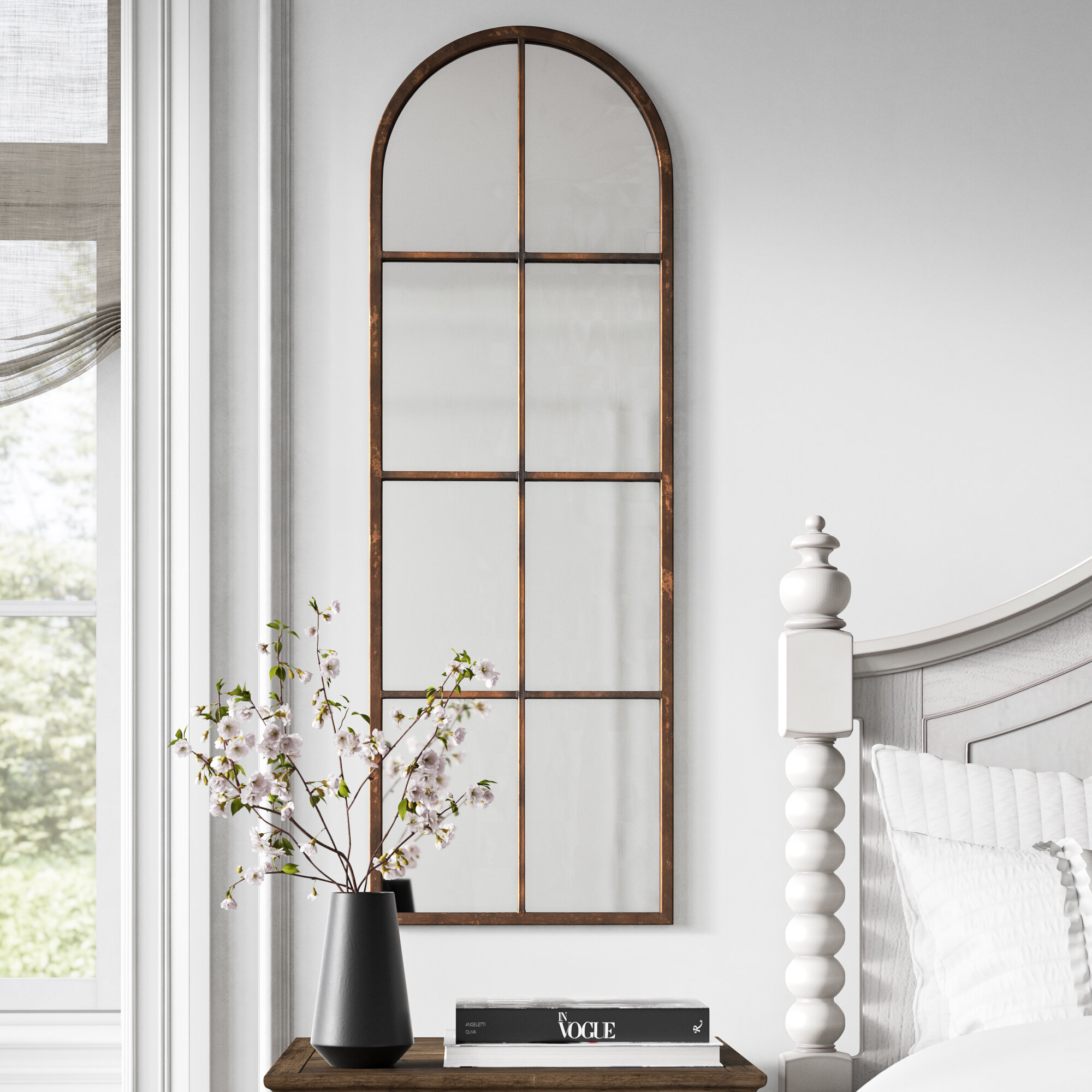 Wayfair Arch Crowned Top Large Oversized Mirrors You Ll Love In 2021