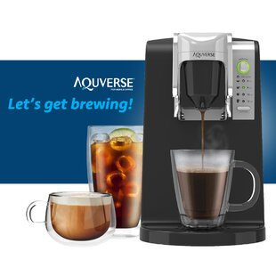 Single Serve Coffee Maker by Aquverse Purchase