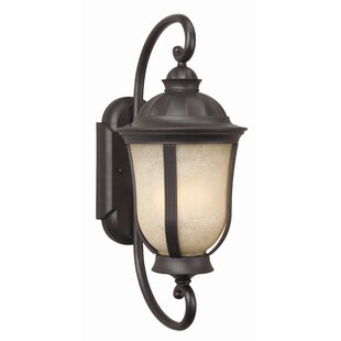 Charlton Home Oakhill 2-Light Outdoor Wall Lantern