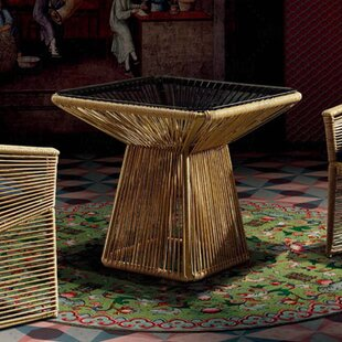 Borneo Glass Dining Table by 100 Essentials