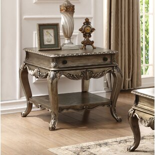 Welling End Table with Storage