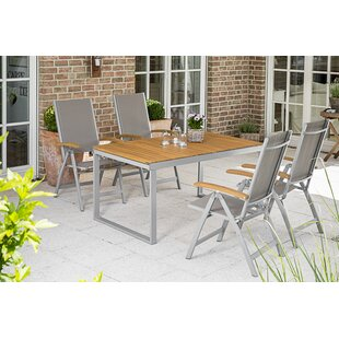 Sakho 4 Seater Dining Set By Sol 72 Outdoor