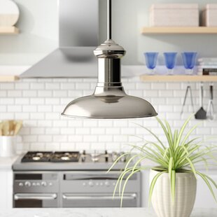 Labelle Brushed Nickel Pendant