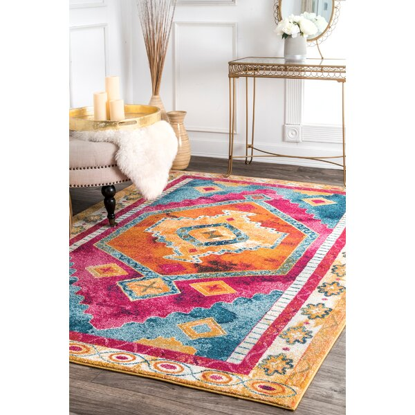 Bungalow Rose Penrod Pink Area Rug Wayfair