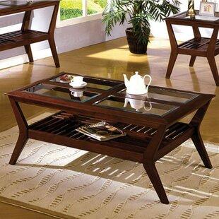 Red Barrel Studio Bernardsville Coffee Table with Storage