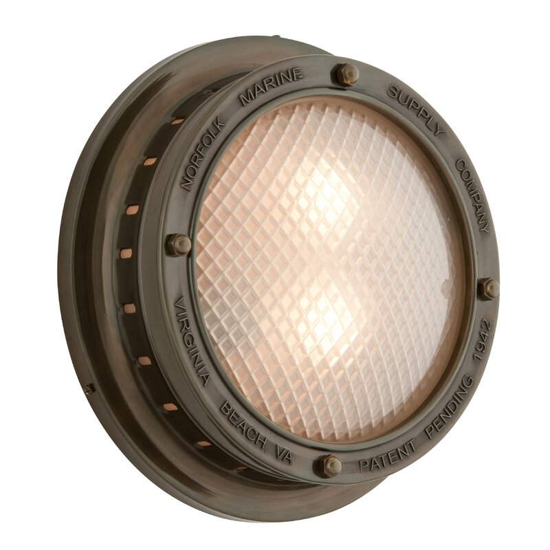 Collinsworth 2-Light Outdoor Flush Mount
