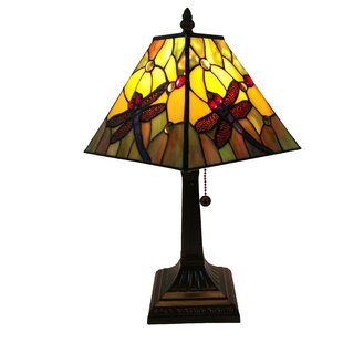 Bargain Tiffany Style 14.5 Table Lamp By Amora Lighting